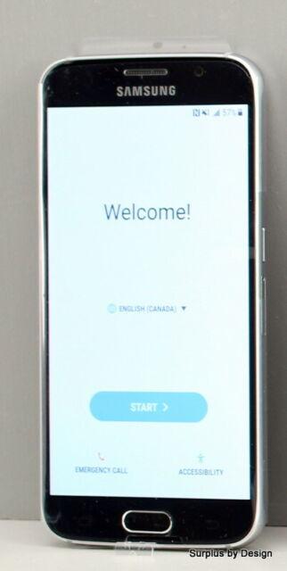 """Samsung Galaxy S6 SM-G920W8 5.1"""" 32GB Blue Smartphone"""