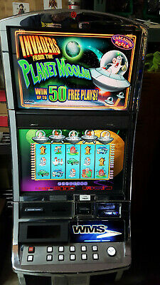 Williams Wms Bb2 Invaders From The Planet Moolah Slot Machine Ebay