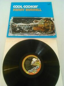 KENNY-BURRELL-COOL-COOKIN-039-LP-EX-UK-1ST-PRESS-CHECKER-6467-310
