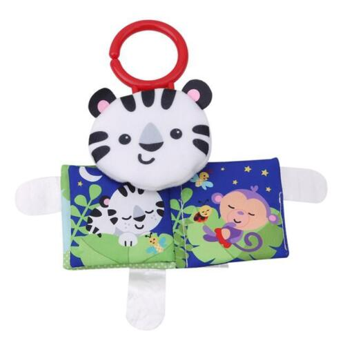 Baby Kid Cat Animal Cloth Book Soft Development Books Learning Education Toy L