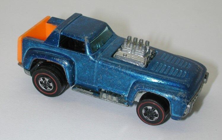 Redline Hotwheels blueE 1971 Short Order oc10939