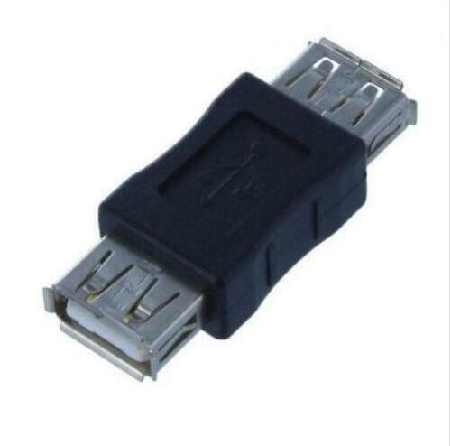 free shipping female to female USB A to USB A coupler adapter connector T