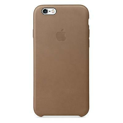 more photos c8d3a 6beee Genuine Apple iPhone 6s Plus Leather Case Mkx92zm/a Brown