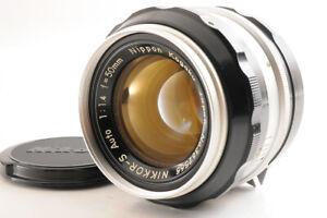 NEAR MINT Nikon Nikkor-S Auto non AI 50mm f/1.4 MF Objektiv aus Japan