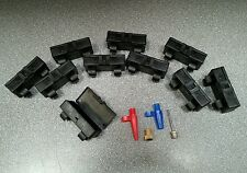 10 SETS x PUMP ADAPTOR KIT. To suit BIKES presta - schrader, BALLS & AIRBEDS