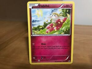 Pokemon Card Flabebe 101/162 Breakthrough in Good ...