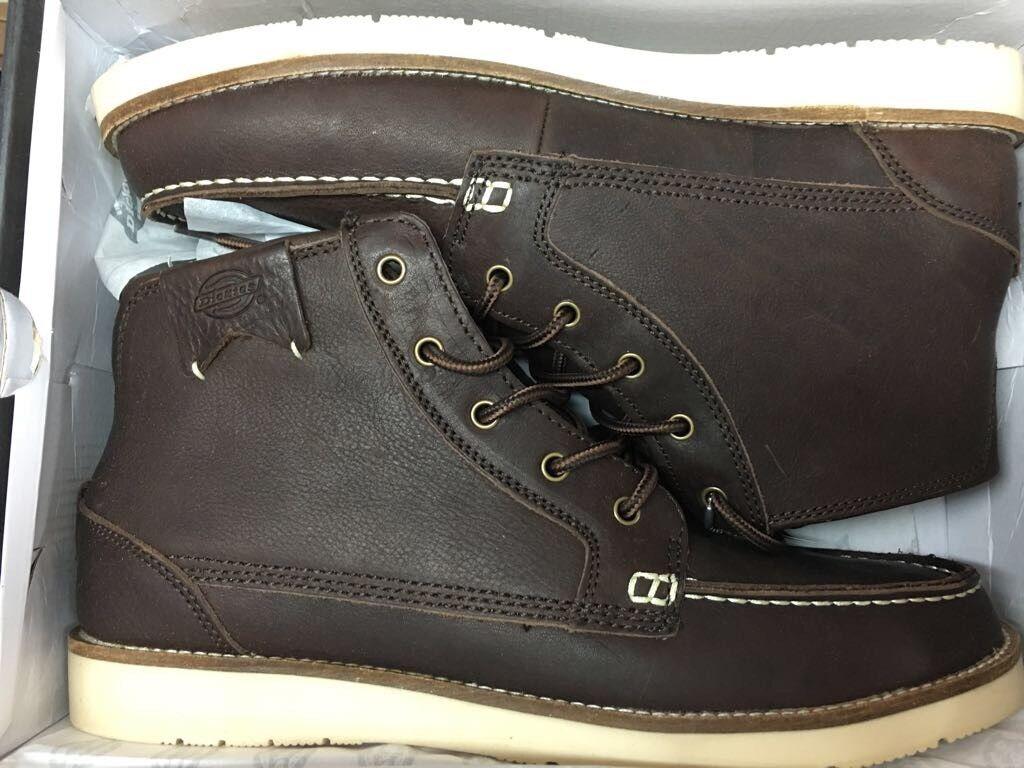 Dickies Stiefel Boot Winter Edel CAST Gr:40 US:7,5 Braun Leder Brown NEU NEW