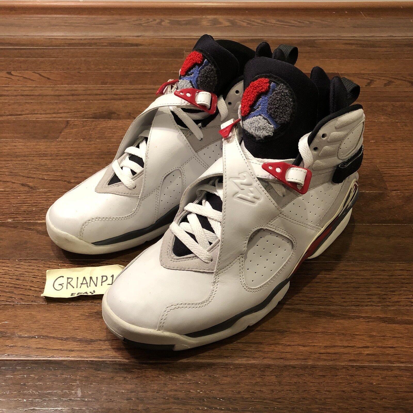 Vintage 2002 Hare Nike Air Jordan VIII 8 Bugs Bunny Hare 2002 305381-101 Size 10 3ff3e8