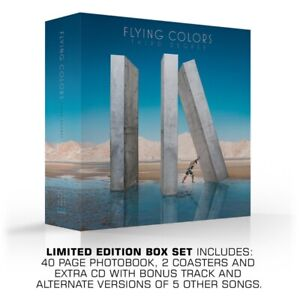 FLYING-COLORS-THIRD-DEGREE-LIMITED-EDITION-BOX-2-CD-MERCHANDISING-NEUF