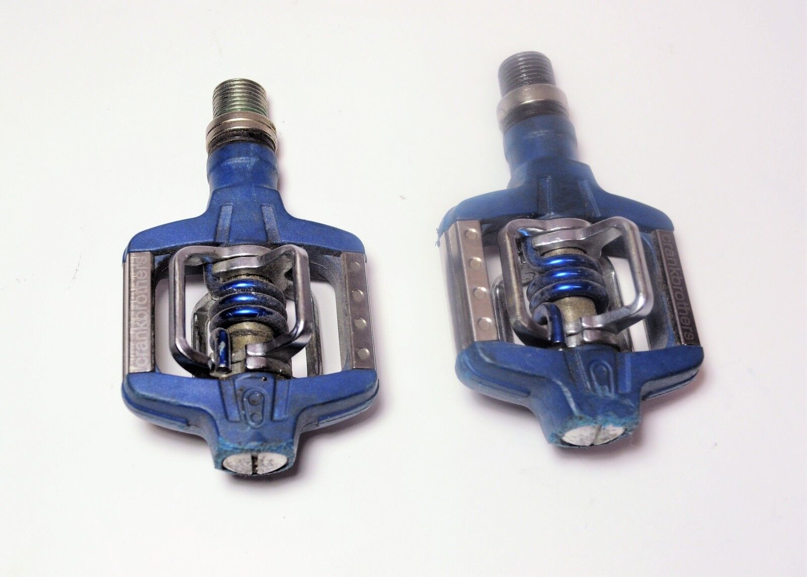 CRANK BrossoHERS blu CANDY C ROAD MTN BICYCLE DUAL CLIPLESS PEDALS 916 X 20 TPI