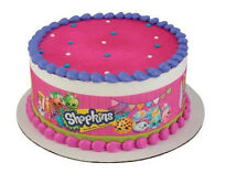 Shopkins edible cake strips frosting icing sides decoration