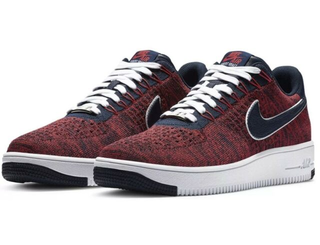 Nike Air Force 1 Ultra Flyknit Low RKK New England Patriots Shoes Size 12.5 DS
