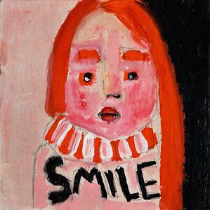 Outsider-Art-Portrait-Painting-SMILE-Katie-Jeanne-Wood