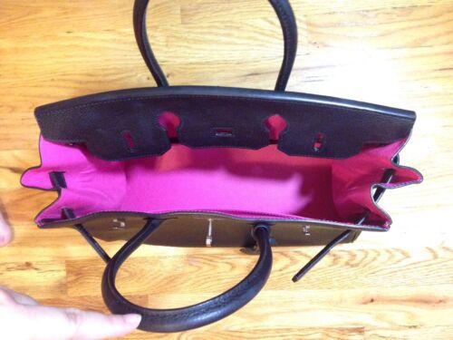 negro estilo de rosa cm cuero intenso forro con Nuevo 35 tonos dos 0dWSUqR