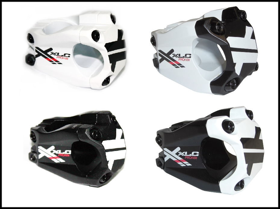 XLC Pro Ride A-Head-Vorbau ST-F02 weiß schwarz, 15°, 1 1 8 , Ø 31,8mm, 40mm    Ausgezeichnete Qualität