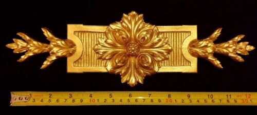 DECORATIVE MOULDING FRENCH  ANTIQUE GOLD GILT OR WHITE RESIN WALL DECORATION
