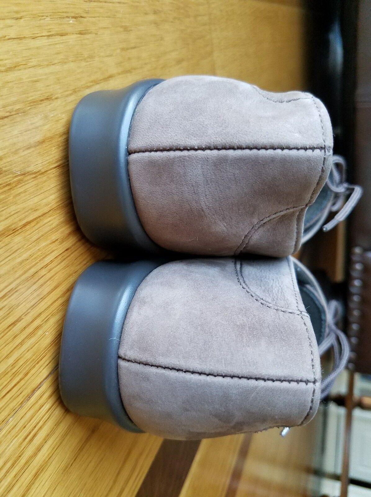 SAS Woman's PETRA Truffle Taupe Braun Lace Suede/Nubuck Lace Braun Up Moccasin Wide Sz 7 W a6c6da