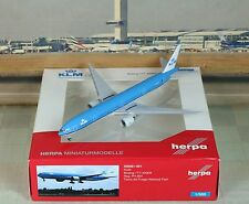 "Herpa Wings KLM ""National Park"" B777-300 (NG) ""Rare"" 1/500"