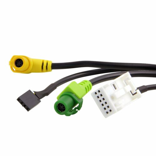 Para BMW 1 E82 Usb Aux Interruptor Y USB Cable 3.5 mm AUX Cable Adaptador 3CD 035 249 A