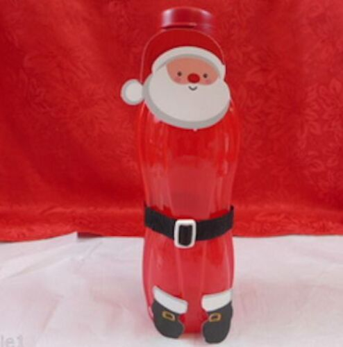 Tupperware Large Water Bottle 1L Red Base /& Pour Seal Santa Decorations Rare New