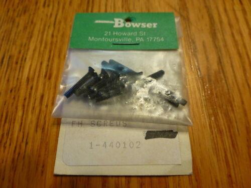 Bowser #440102 PK 10/_ 4 40 X 5//8 FH  SCREWS