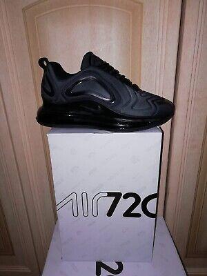Nike air max 720 Nero All Black Tg 40 41 42 43 44 | eBay