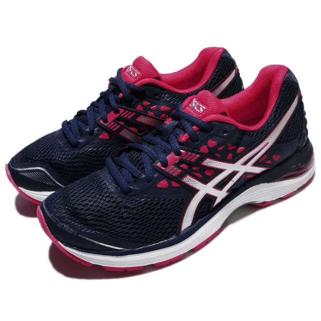 9726aaa4be7 Asics Gel-Pulse 9 Blue Silver Bright Rose Women Running Athletic Shoe  T7D8N-4993