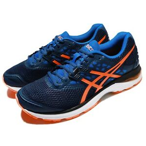55d58987d155 Asics Gel-Pulse 9 Dark Blue Orange Men Running Athletic Shoes ...