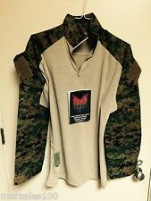 new Military Crye Precision Tactical Combat Shirt DRIFIRE MARPAT USMC SMALL R