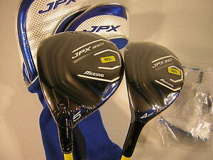 LEFTY-Mizuno-JPX-850-5-Fairway-Wood-amp-4-Hybrid-Regular-Flex-2-Piece-Set