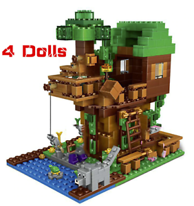 lego minecraft The Tree House Small Building Blocks Sets 250pcs