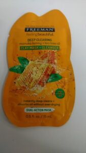 Freeman-Deep-Clearing-Manuka-Honey-Tea-Tree-Oil-Clay-Mask-amp-Cleanser-Packet