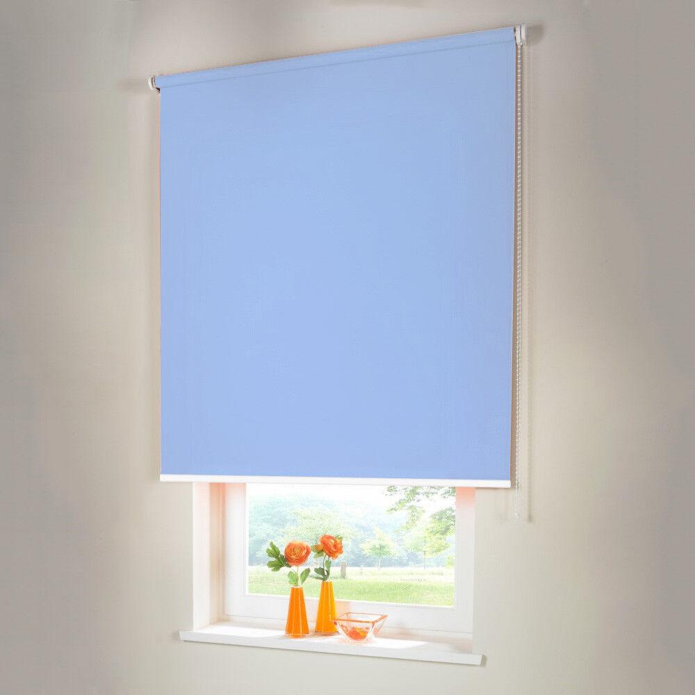 Persiana para oscurecer seitenzug kettenzug persiana-altura 110 cm azul claro