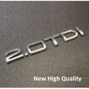 S Line BLACK Audi A3 A4 A5 A6 A8  TRUNK BOOT Badge Emblem SALE UK Stock