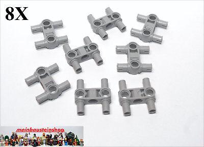 2 x LEGO® 48989 Technik Pin,Verbinder in neuhellgrau wie auf dem Foto.Neuware