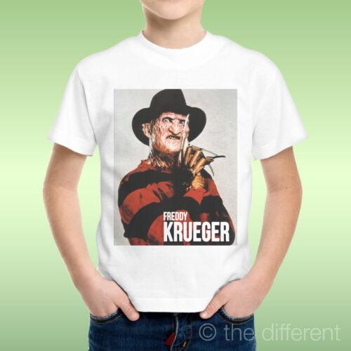 T-Shirt Child Boy Freddy Krueger Nightmare Film Horror Gift Idea
