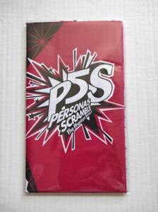 Persona-5-Scramble-The-Phantom-Strikers-Morgana-Towel-Sealed