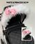 pram-hood-fur-trim-pink-grey-white-universal-hood-babies-pram-for-pram thumbnail 88