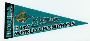 1997-Florida-Marlins-pennant-9-034-World-Series-Champions-Craig-Counsell
