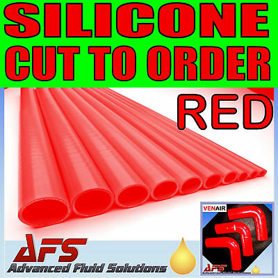 Silicone Straight Reinforced Hose 22mm ID Red 1 metre or 500mm Coolant Turbo