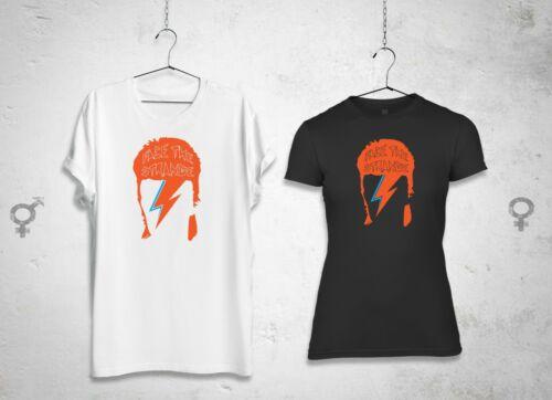 Like David Bowie Aladdin Sane New t-shirt Ziggy Stardust FACE THE STRANGE