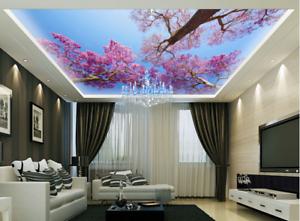 3D Sky Red Flower 963 Wall Paper Wall Print Decal Wall Deco AJ WALLPAPER Summer