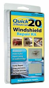 Quick 20 WINDSHIELD REPAIR KIT  (20 Minute Cure)-------br<wbr/>and new