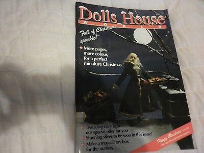 Casa Delle Bambole Del Mondo N. 28 Nov/dic 1993 Natale Musical Toy Box-mostra Il Titolo Originale Rimozione Dell'Ostruzione