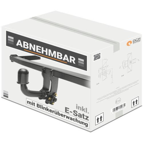 AHK abnehmbar Für Mitsubishi Lancer Kombi ab03 13p E-Satz mit Blinküberwachung