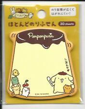 Sanrio Pom Pom Purin Sticky Notes Extra Sticky