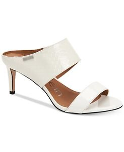 Cecily Dress Sandals White