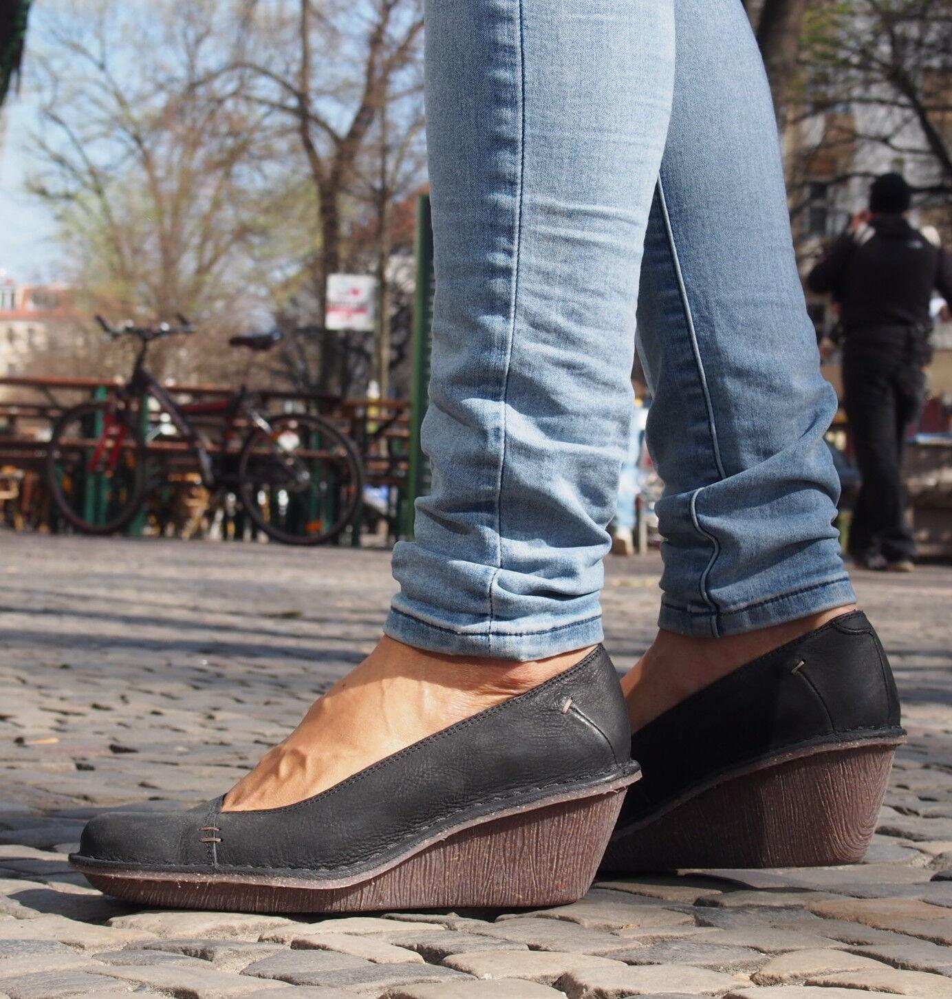 Clarks Originals Damenschuhe HARLAN BEACH schwarz Pumps Echtleder Schuhe NEU