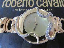 ICONIC Roberto Cavalli placcato oro S/S SNAKE 2H Diamond Watch-prezzo consigliato EU.1.000.00