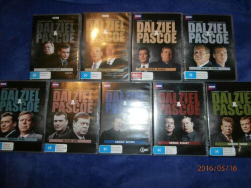 1 of 1 - Dalziel & Pascoe Series 1 2 3 4 5 6 7 8 9 (DVD, 19 discs) British TV crime drama